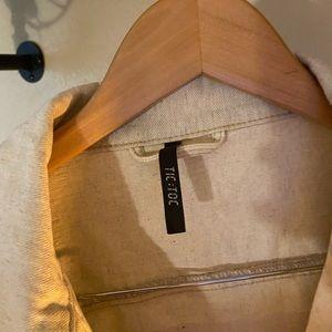 Dolls Kill Jackets & Coats - Cropped flame jacket